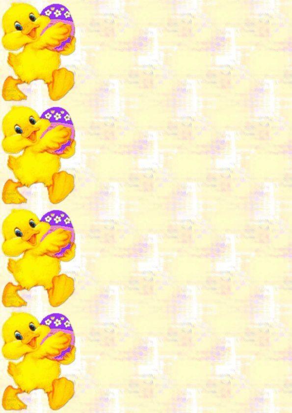 Pâques Ostern Easter poussin_00 Incredimail &amp&#x3B; Papier A4 h l &amp&#x3B; outlook &amp&#x3B; enveloppe &amp&#x3B; 2 cartes A5 &amp&#x3B; signets 3 langues th_paques_poussin_00
