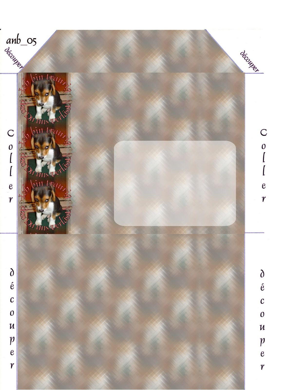 ich bin traurig dass du uns verl sst incredimail papier a4 h l outlook enveloppe 2. Black Bedroom Furniture Sets. Home Design Ideas