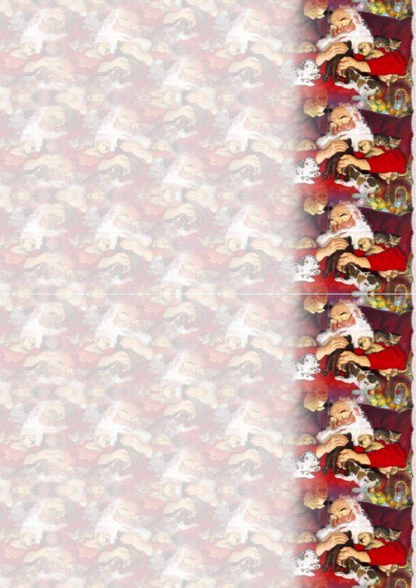 Noël Père Noël avec animaux Incredimail &amp&#x3B; Papier A4 h l &amp&#x3B; outlook &amp&#x3B; enveloppe &amp&#x3B; 2 cartes format A5 &amp&#x3B; signets + multilangues  th_noel_perenoelsantaclaus_hugo_00