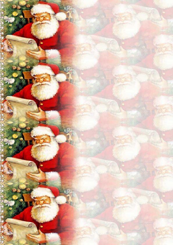 Noël Père Noël list Incredimail &amp&#x3B; Papier A4 &amp&#x3B; outlook &amp&#x3B; enveloppe &amp&#x3B; 2 cartes A5 &amp&#x3B; signets + multilangue  th_noel_perenoelautravail_hugo_00