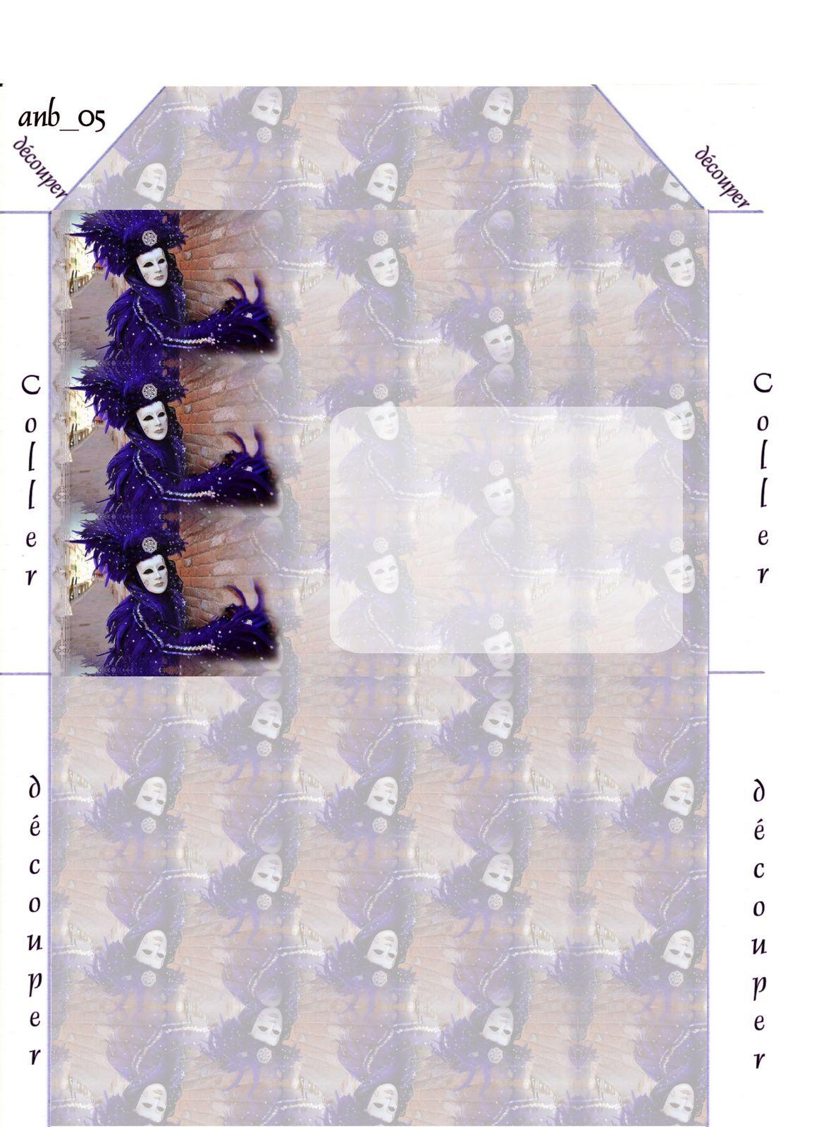 Personnage Carnaval de Venise Incredimail &amp&#x3B; Papier A4 h l &amp&#x3B; outlook &amp&#x3B; enveloppe &amp&#x3B; 2 cartes A5     pers_venise_carnaval2009_02