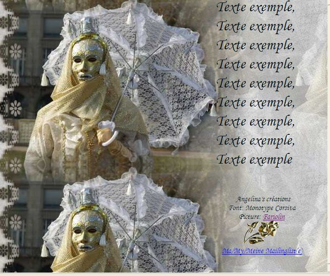 Personnage Carnaval Incredimail &amp&#x3B; Papier A4 h l &amp&#x3B; outlook &amp&#x3B; enveloppe &amp&#x3B; 2 cartes A5 &amp&#x3B; signets pers_carnaval_annecy_2008_4h