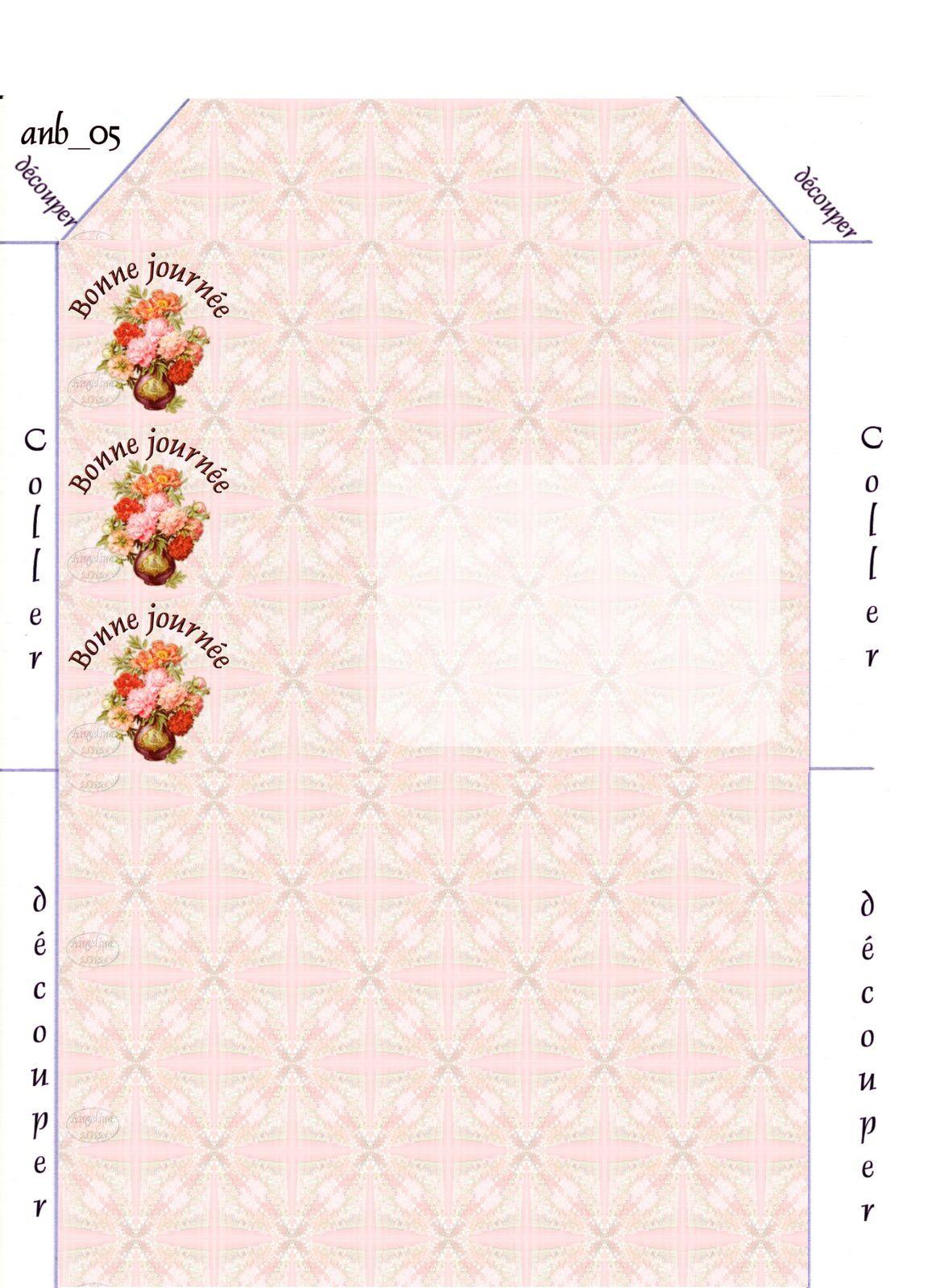 Bonne journée Pivoines Incredimail &amp&#x3B; outlook &amp&#x3B; Papier A4 h l &amp&#x3B; enveloppe &amp&#x3B; 2 cartes A5 &amp&#x3B; signets     bonne_journee_peonies05_dhedey