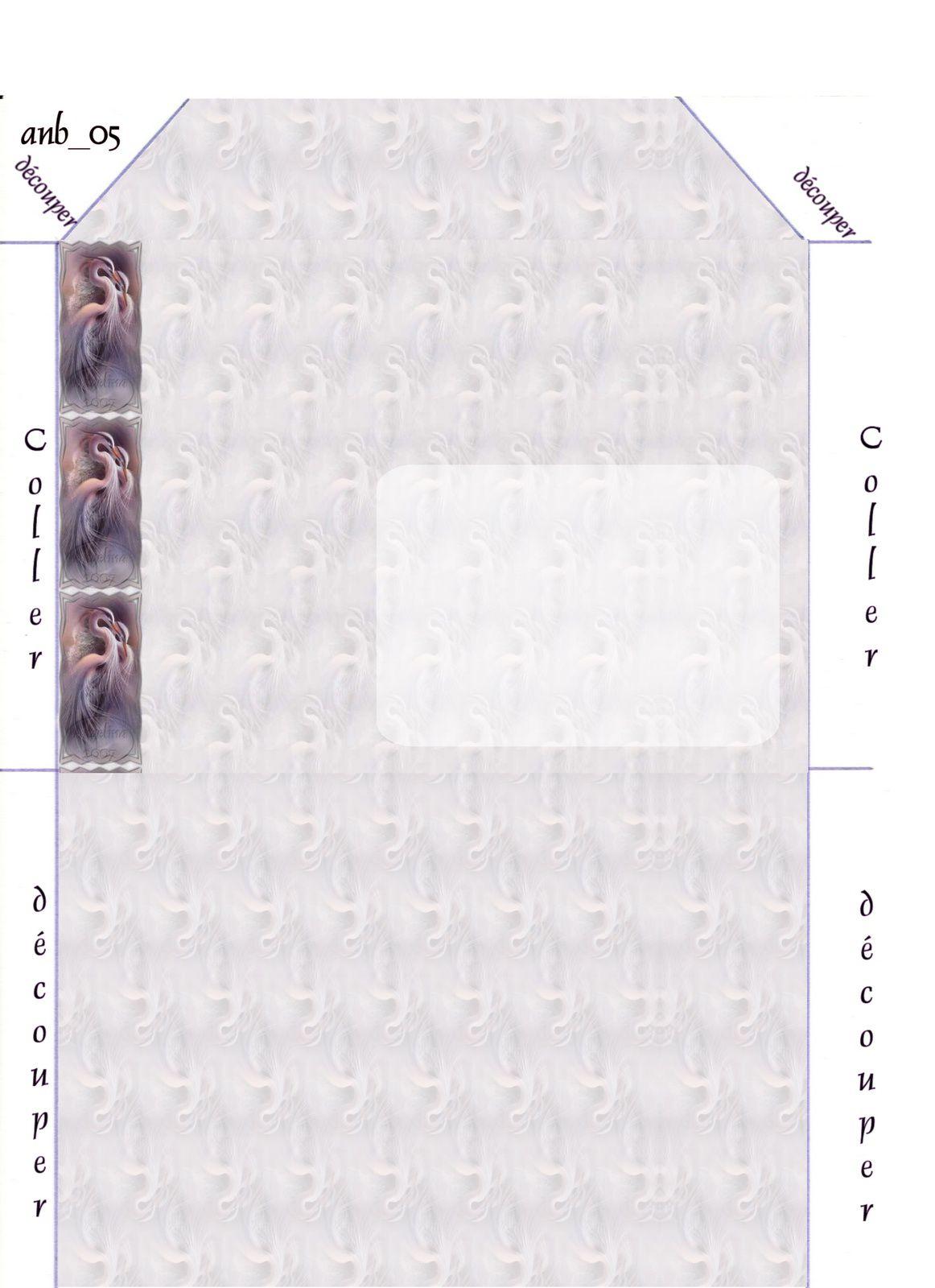 Oiseaux Incredimail &amp&#x3B; Papier A4 h l &amp&#x3B; outlook &amp&#x3B; enveloppe &amp&#x3B; 2 cartes A5 &amp&#x3B; signets 3 langues   ois_harmony