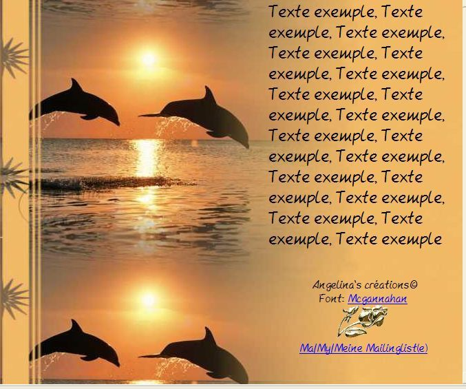 Dauphins coucher du soleil Incredimail &amp&#x3B; Papier A4 h l &amp&#x3B; outlook &amp&#x3B; enveloppe &amp&#x3B; 2 cartes A5 &amp&#x3B; signets 3 langues    daup_bottlenose_dolphins_jumping