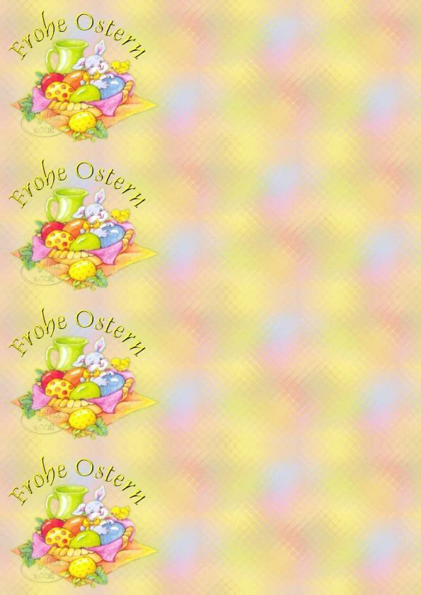 Frohe Ostern Corbeille aux oeufs IM&amp&#x3B; Papiers A4 &amp&#x3B; outlook &amp&#x3B; enveloppe &amp&#x3B; 2 cartes A5 &amp&#x3B; signets frohe_ostern_th_hs_easter14