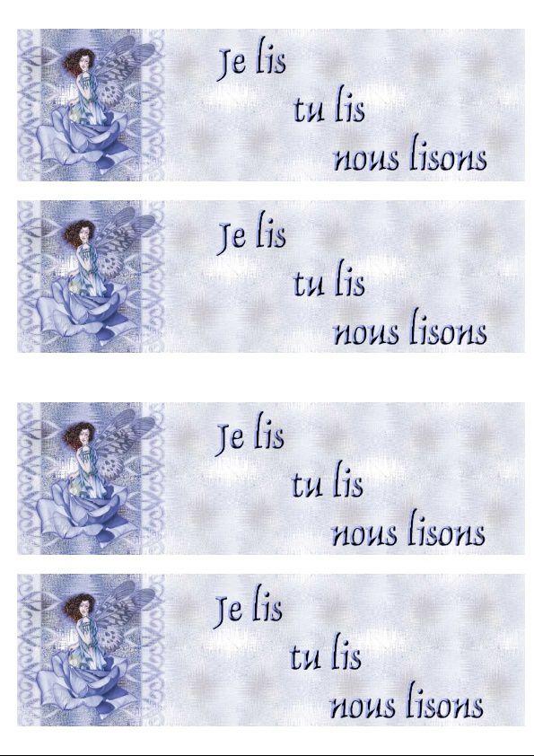 Ange sur rose bleu IM &amp&#x3B; outl &amp&#x3B; Papier A4 h l &amp&#x3B; enveloppe &amp&#x3B; 2 cartes A5 &amp&#x3B; signets 3 langues ange_bluefa_3