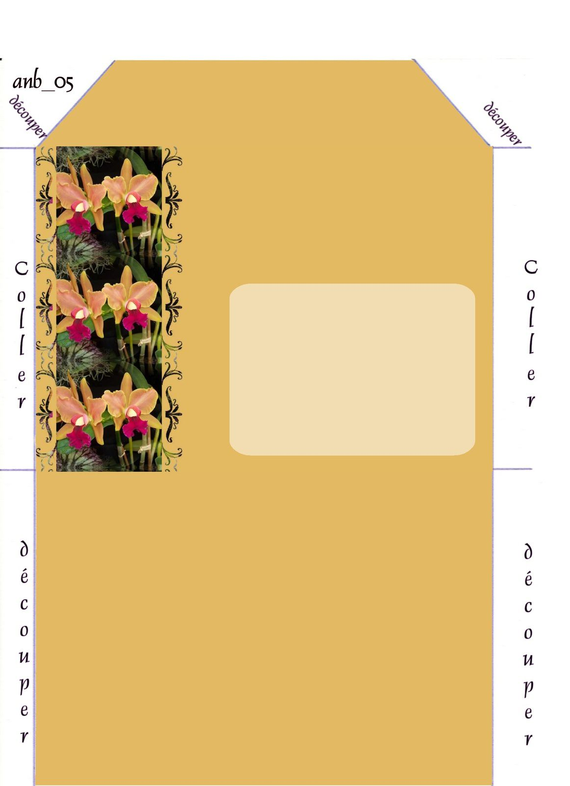Orchidee Incredimail &amp&#x3B; Papier A4 h l &amp&#x3B; outlook &amp&#x3B; enveloppe &amp&#x3B; 2 cartes A5 &amp&#x3B; signets 3 langues   100_2434