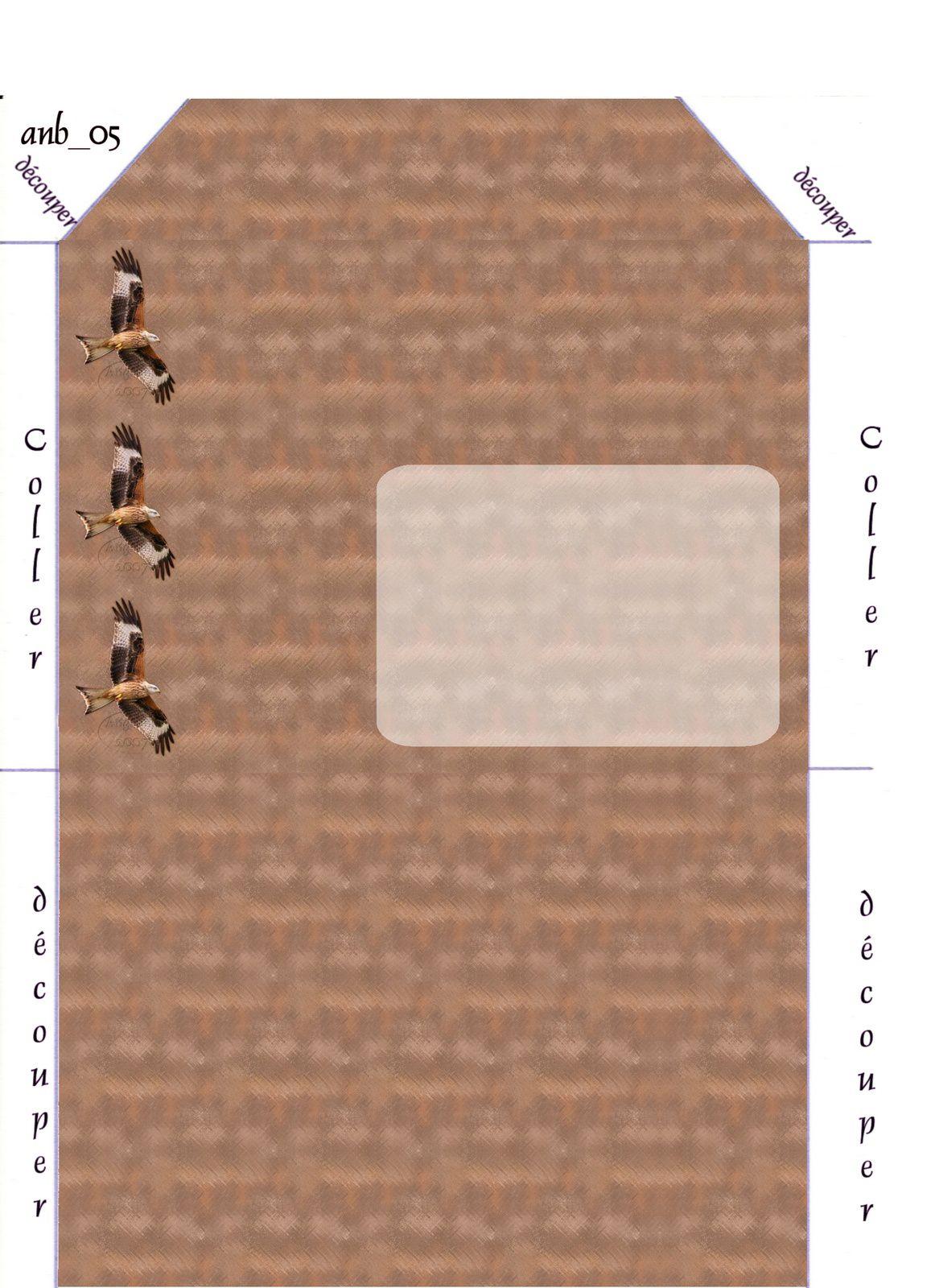 Aigle Oiseau Incredimail &amp&#x3B; Papier A4 h l &amp&#x3B; outlook &amp&#x3B; enveloppe &amp&#x3B; 2 cartes A5 &amp&#x3B; signets 3 langues   ois_saphiere_bird_44_a