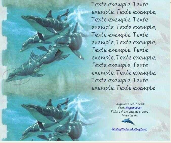 Dauphins Incredimail &amp&#x3B; Papier A4 h l &amp&#x3B; outlook &amp&#x3B; enveloppe &amp&#x3B; 2 cartes A5 &amp&#x3B; signets 3 langues dauph_dauphin2