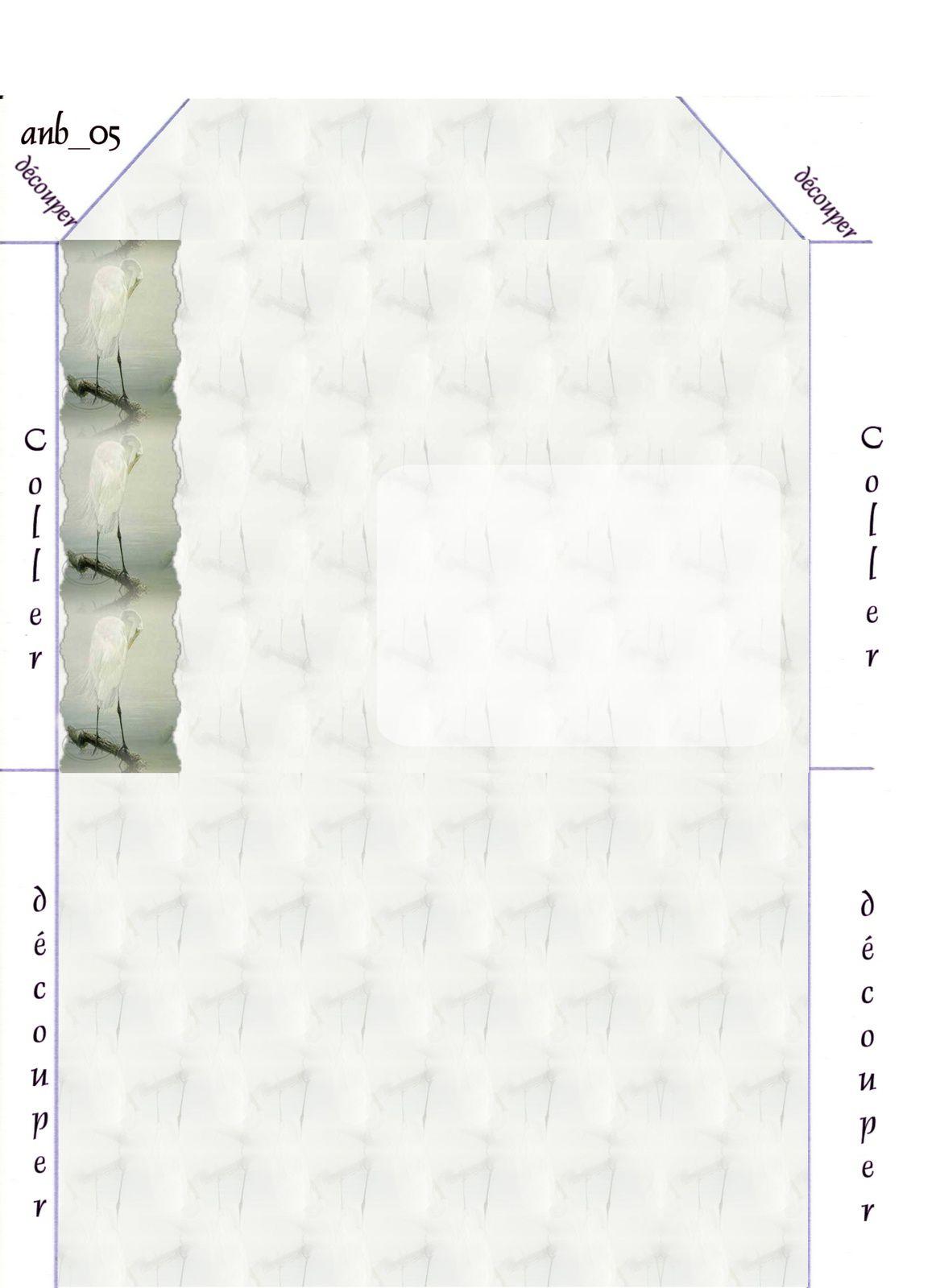 Oiseau Incredimail &amp&#x3B; Papier A4 h l &amp&#x3B; outlook &amp&#x3B; enveloppe &amp&#x3B; 2 cartes A5 &amp&#x3B; signets 3 langues   ois_hugo_pl7o034w_00