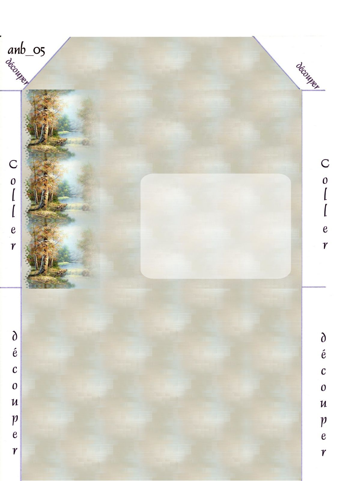 Paysage Incredimail &amp&#x3B; Papier A4 h l &amp&#x3B; outlook &amp&#x3B; enveloppe &amp&#x3B; 2 cartes A5 &amp&#x3B; signets 3 langues   pays_10602016