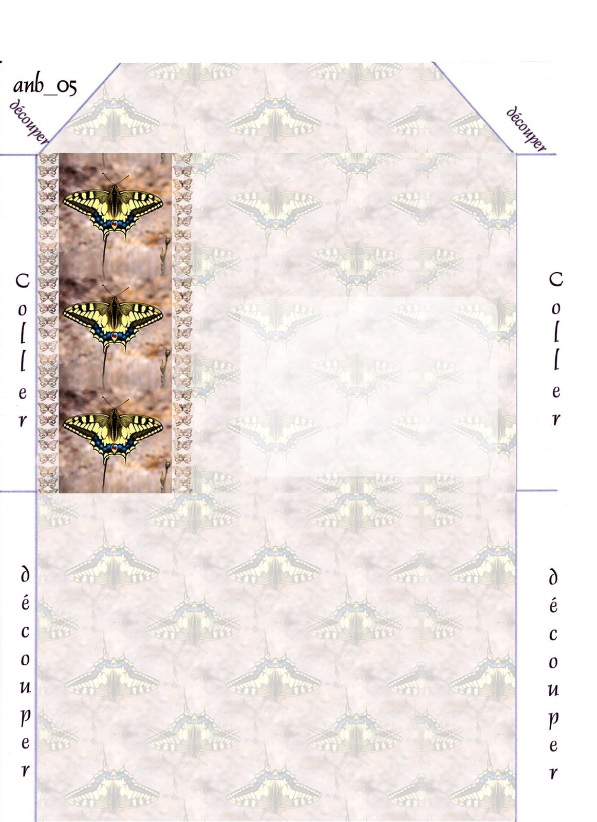 Papillon Incredimail &amp&#x3B; Papier A4 h l &amp&#x3B; outlook &amp&#x3B; enveloppe &amp&#x3B; 2 cartes A5 &amp&#x3B; signets 3 langues     papillon_03_02_p_saharae_anb_bordermask002