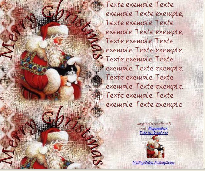 Merry Christmas Incredimail &amp&#x3B; Papier A4 h l &amp&#x3B; outlook &amp&#x3B; enveloppe &amp&#x3B; 2 cartes A5 &amp&#x3B; signets merry_christmas_ggsanta_092
