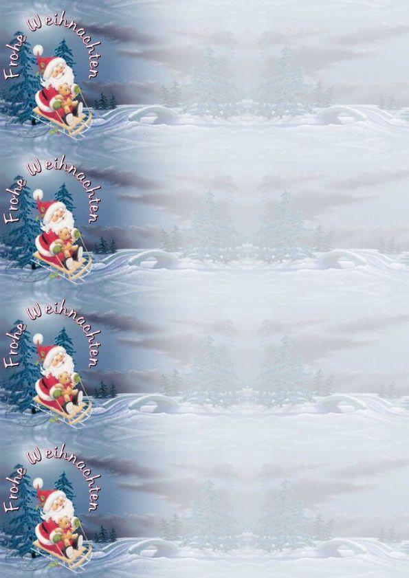 Frohe Weihnachten Incredimail &amp&#x3B; Papier A4 h l &amp&#x3B; outlook &amp&#x3B; enveloppe &amp&#x3B; 2 cartes A5 &amp&#x3B; signets   frohe_weihnachten_cid_x_ma11