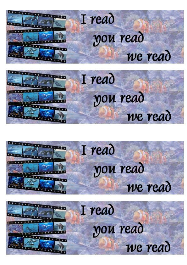 Dauphins 3way film strip Incredimail &amp&#x3B; outlook &amp&#x3B; Papier A4 h l &amp&#x3B; enveloppe &amp&#x3B; 2 cartes A5 &amp&#x3B; signets 3 langues dauphins_3way_film_strip
