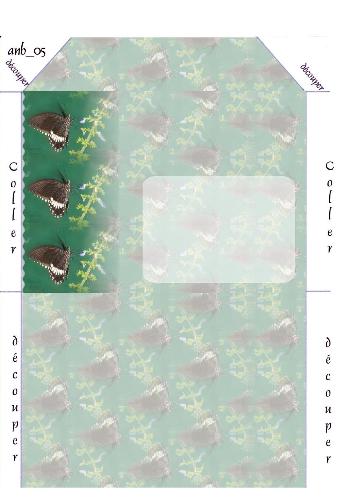 Papillon Incredimail &amp&#x3B; Papier A4 h l &amp&#x3B; outlook &amp&#x3B; enveloppe &amp&#x3B; 2 cartes A5 &amp&#x3B; signets 3 langues    pap_papillon_tropical_1