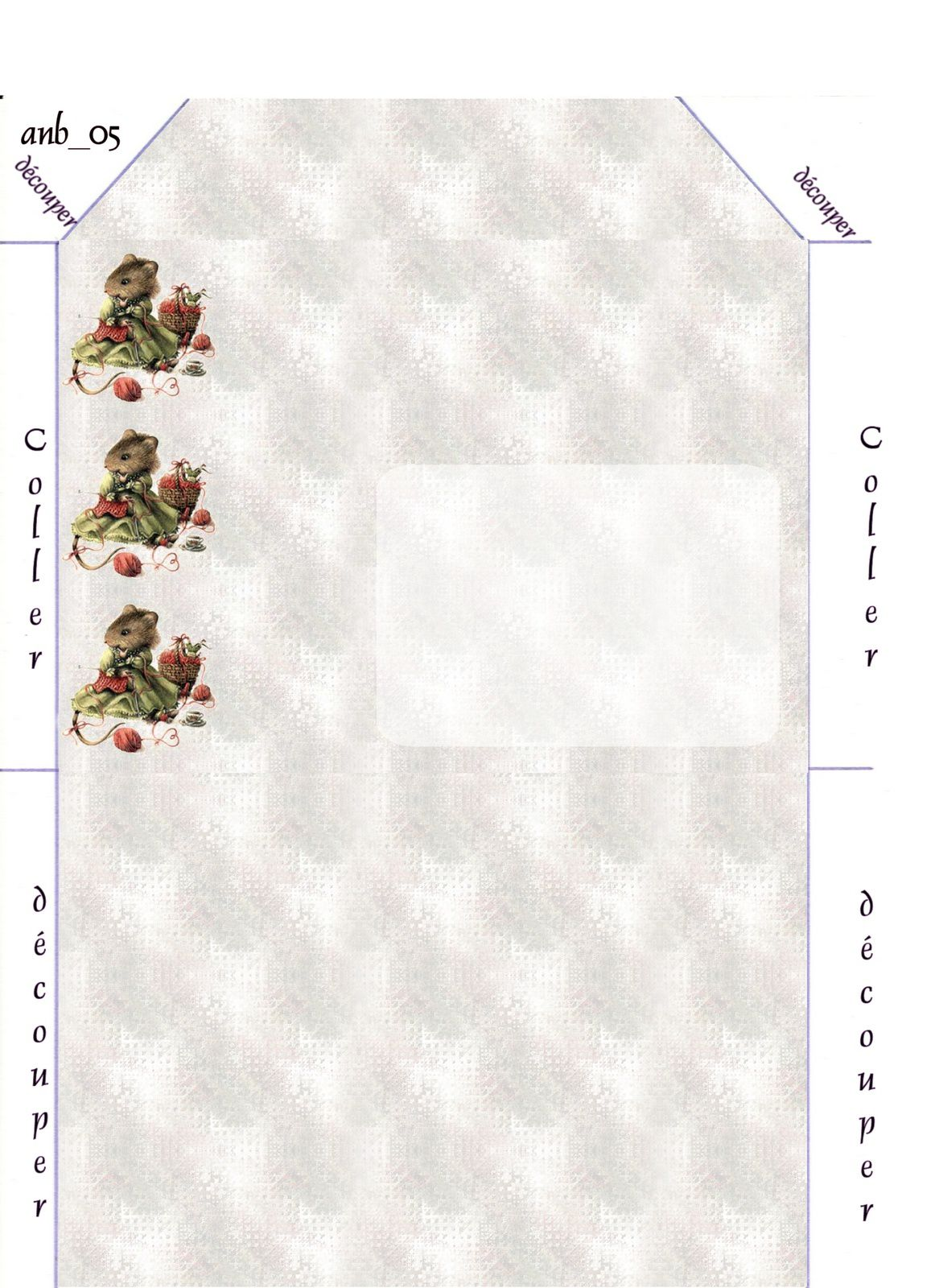 Veramouse tricot Incredimail &amp&#x3B; Papier A4 h l &amp&#x3B; outlook &amp&#x3B; enveloppe &amp&#x3B; 2 cartes A5 &amp&#x3B; signets veramouse_tricot_00