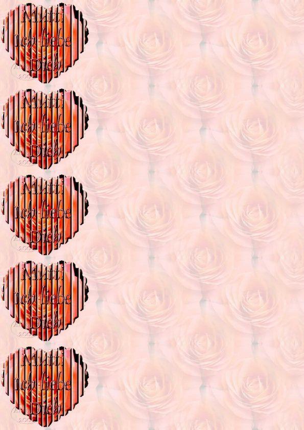 Mutti ich liebe Dich Incredimail &amp&#x3B; Papier A4 h l &amp&#x3B; outlook &amp&#x3B; enveloppe &amp&#x3B; 2 cartes A5 &amp&#x3B; signets      Mutti_ich_liebe_dich_fleurs_rose36_slat_anb_chm