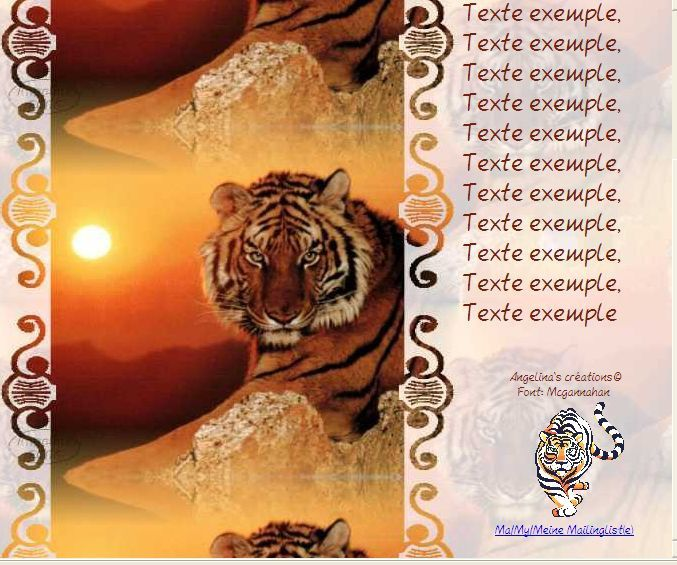 Tigre Animaux Sauvages Incredimail &amp&#x3B; Papier A4 h l &amp&#x3B; outlook&amp&#x3B; enveloppe &amp&#x3B; 2 cartes A5 &amp&#x3B; signets 3 langues    an_autres097a
