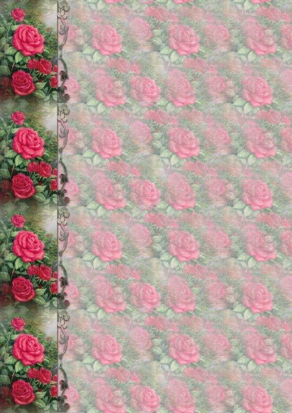 Fleurs roses Incredimail &amp&#x3B; Papier A4 h l &amp&#x3B; outlook &amp&#x3B; enveloppe &amp&#x3B; 2 cartes A5 &amp&#x3B; signets 3 langues     perfect_red_rose_thomas_kinkade