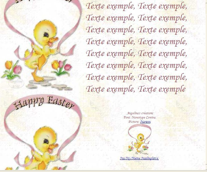 Happy Easter xxdvb12 Incredimail &amp&#x3B; Papier A4 h l &amp&#x3B; outlook &amp&#x3B; enveloppe &amp&#x3B; 2 cartes A5 &amp&#x3B; signets     happy_easter_paques_xxdvb12i_00_marzou
