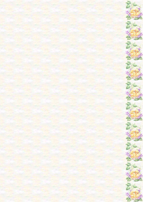 Pâques Ostern Easter Poussins fleurs violet Incredimail &amp&#x3B; Papier A4 h l &amp&#x3B; outlook &amp&#x3B; enveloppe &amp&#x3B; 2 cartes A5 &amp&#x3B; signets 3 langues  th_paques_b6726262_00_marzou