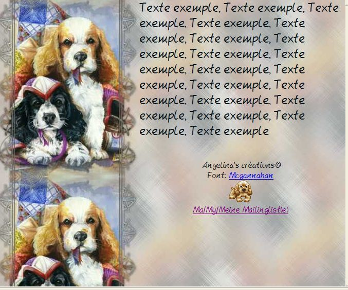 Chiens Incredimail &amp&#x3B; Papier A4 h l &amp&#x3B; outlook &amp&#x3B; enveloppe &amp&#x3B; 2 cartes A5 &amp&#x3B; signets 3 langues      chien_11english_large