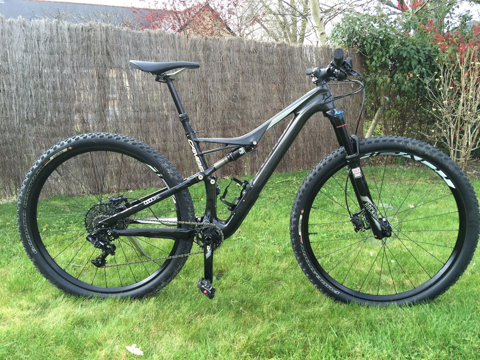 Test Bike : Camber Comp Carbon 29 - 2016