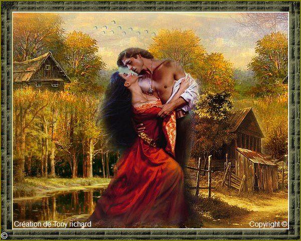 Création Copyright de Tony richard pour le poème Jardin secret. Tous droits réservés