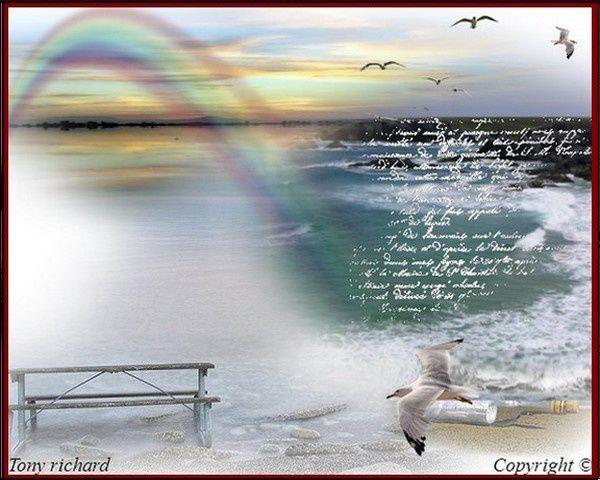 Création Copyright de Tony richard pour le poème Quelques instants d'un temps. Tous droits réservés