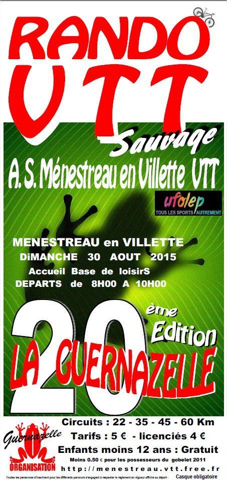 20eme Rando VTT : la Guernazelle (AS Menestreau en Villette VTT)