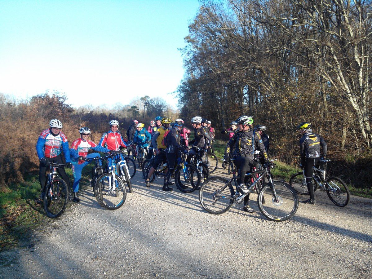 Interclub Balbuzards - Tamalous - Gien Relax - VTT Mardié