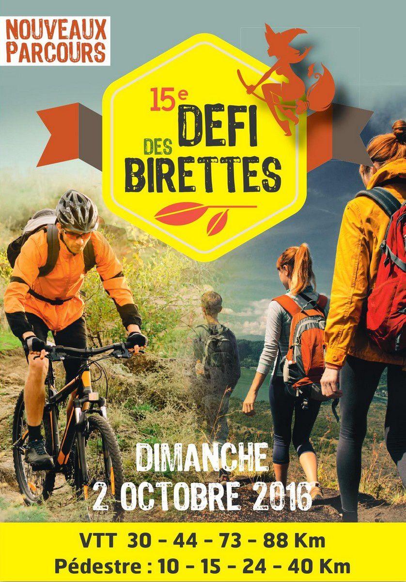 Défi des birettes - 2 Octobre - Assigny