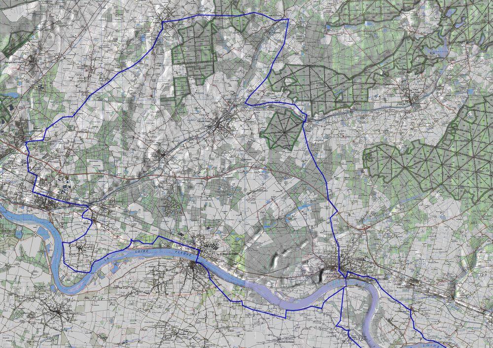 Parcours ROUTE - partie OUEST- 100 km