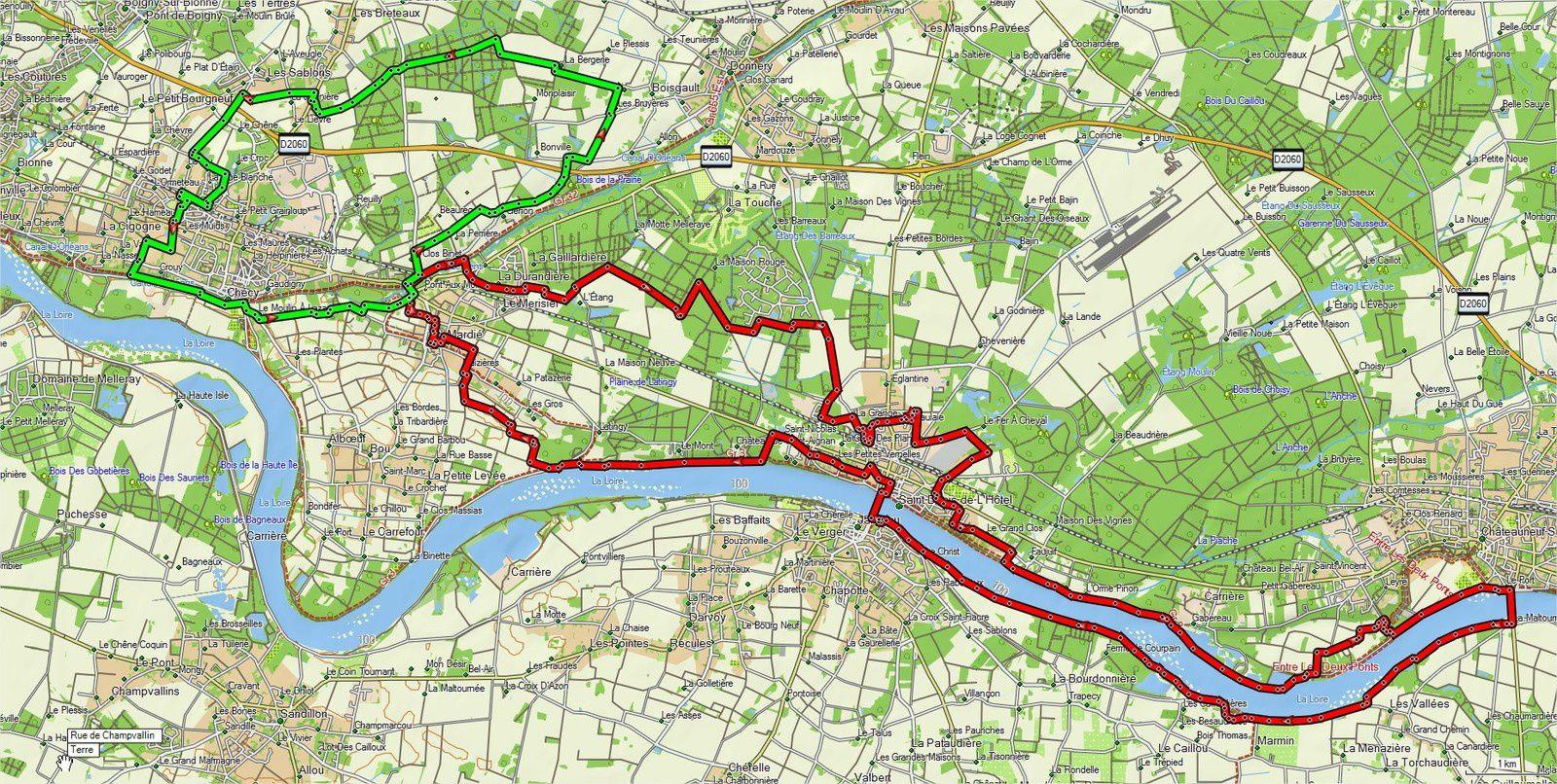 Randonnée VTT et ROUTE - Au fil du Cens - 11 Juin 2017 - Parcours et traces GPS