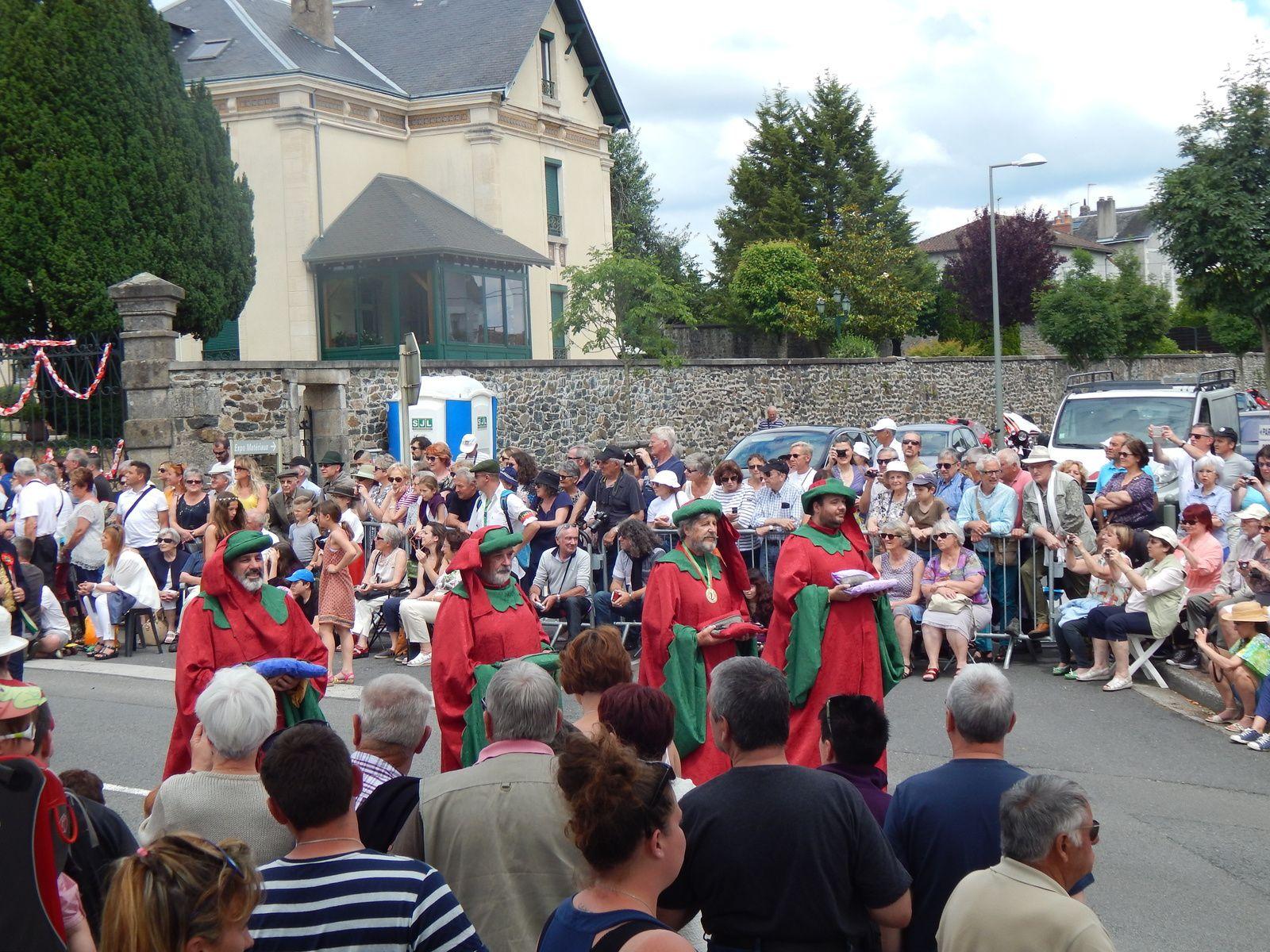 Les 72èmes Ostensions de Saint-Junien, année 2016