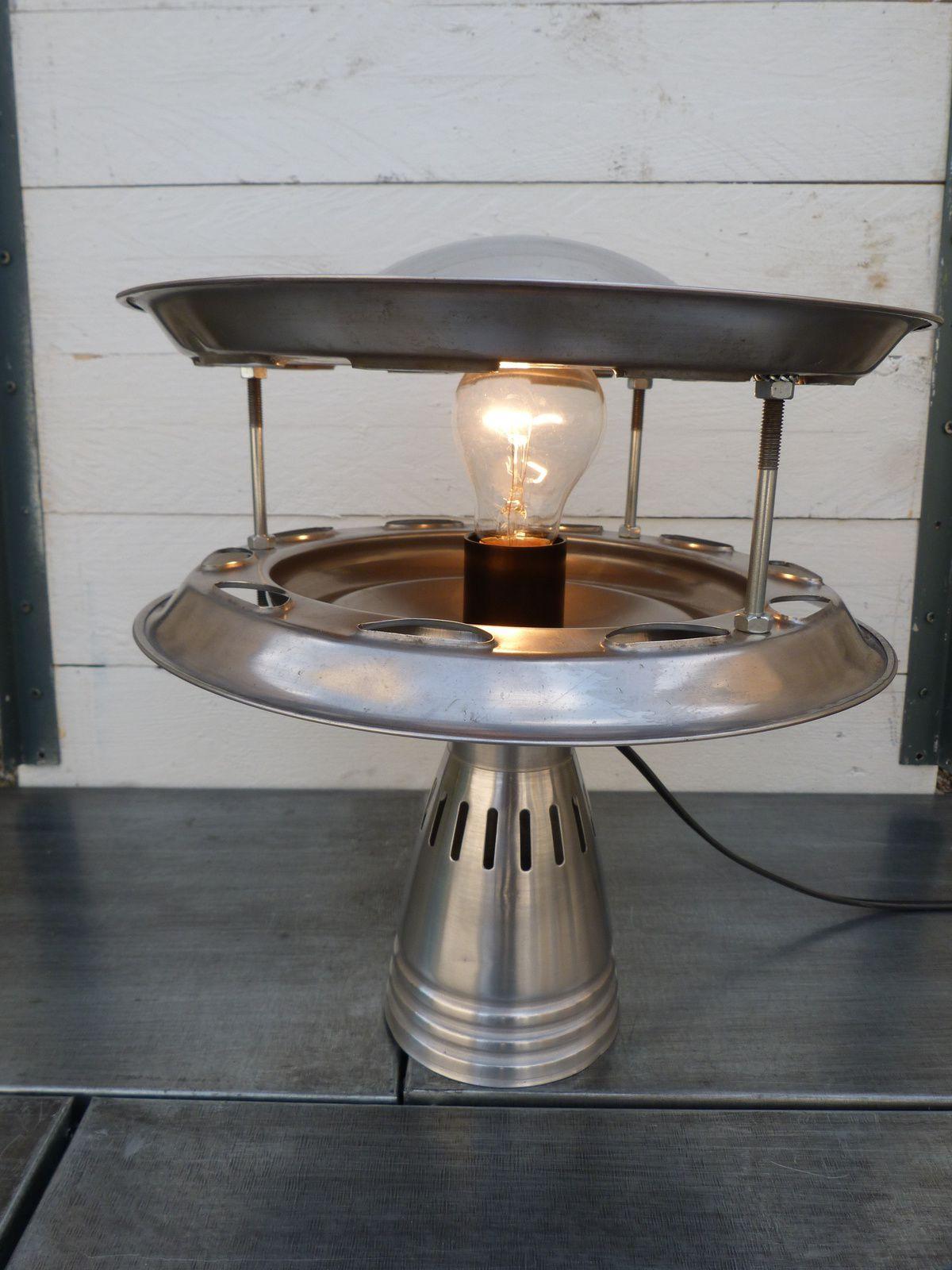 Lampe soucoupe volante ovni ufo ju and b - Lampe soucoupe volante ...