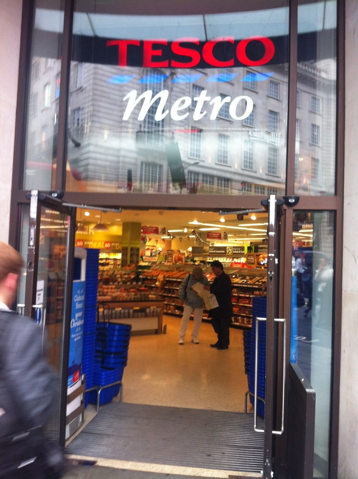 Digital Tour London : (1) Click &amp&#x3B; Collect Tesco Metro