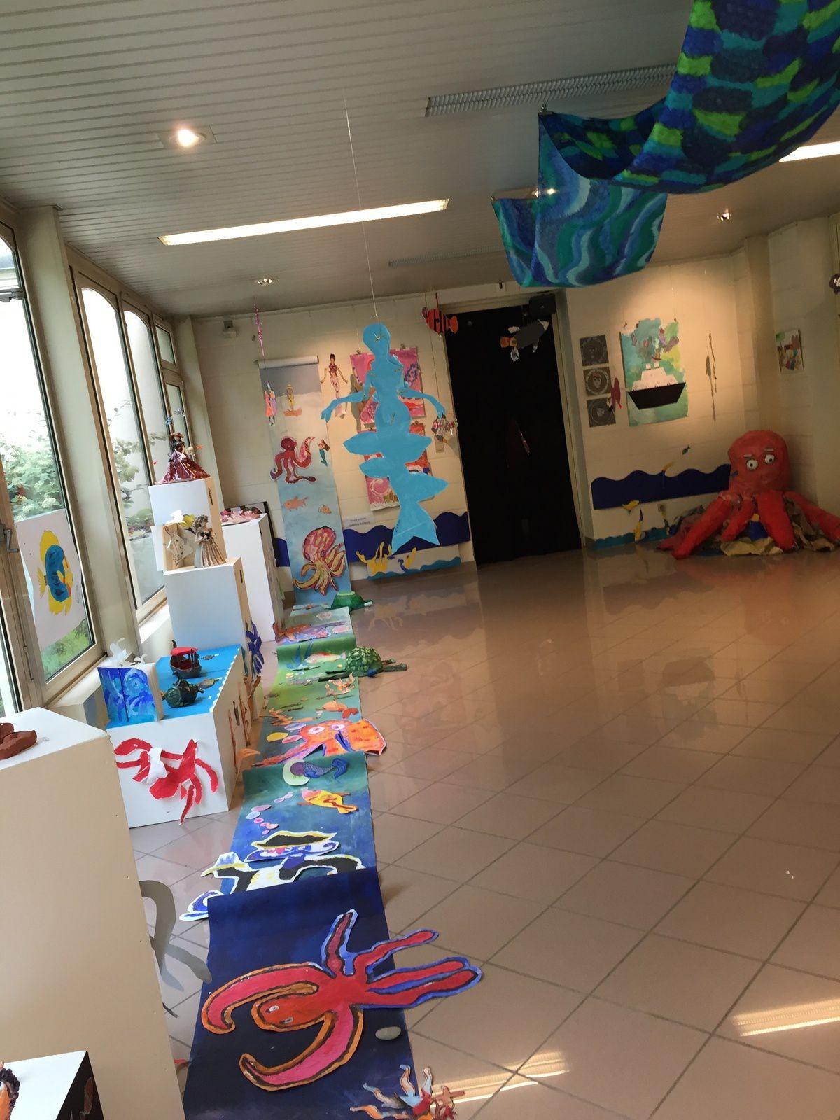 EMAP :exposition des élèves sous le signe de la mer