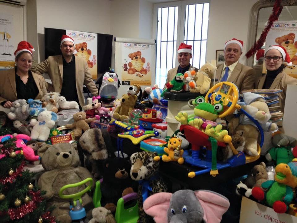 La collecte de jouets organisée par CENTURY21