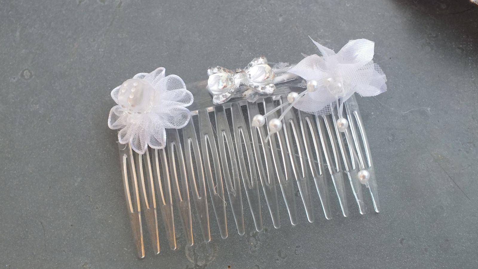 Peigne à cheveux pour mariées