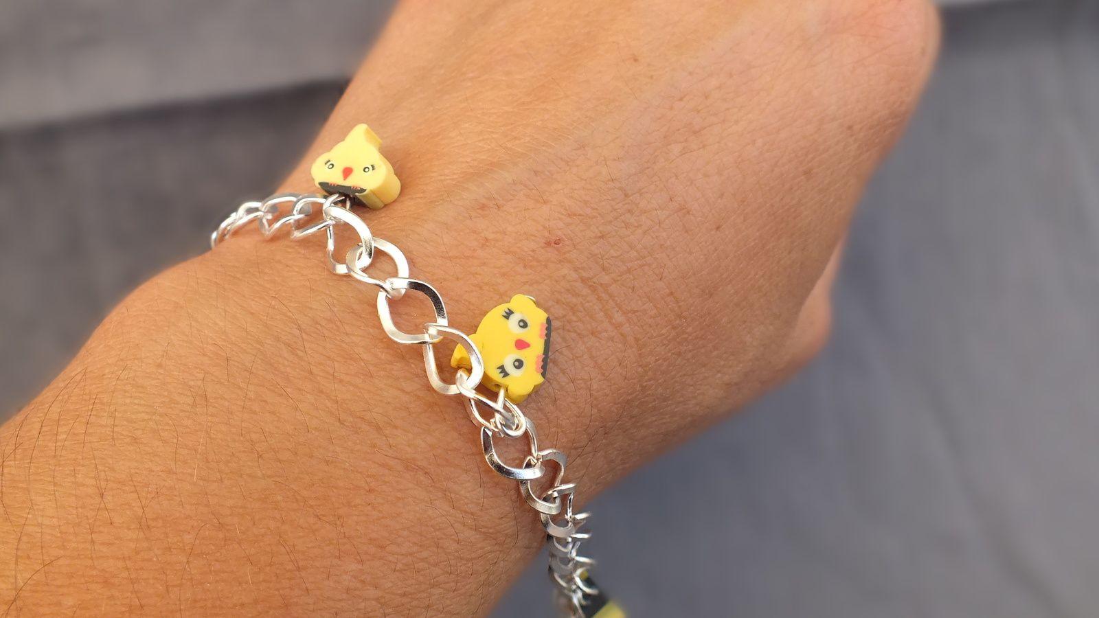 bracelet de l'été en fimo à adopter
