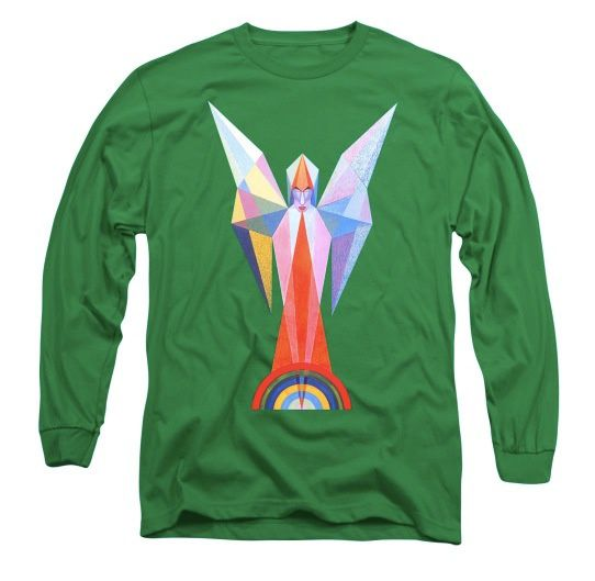 Tee-Shirt d'art - Sentence Long Sleeve T-Shirt.