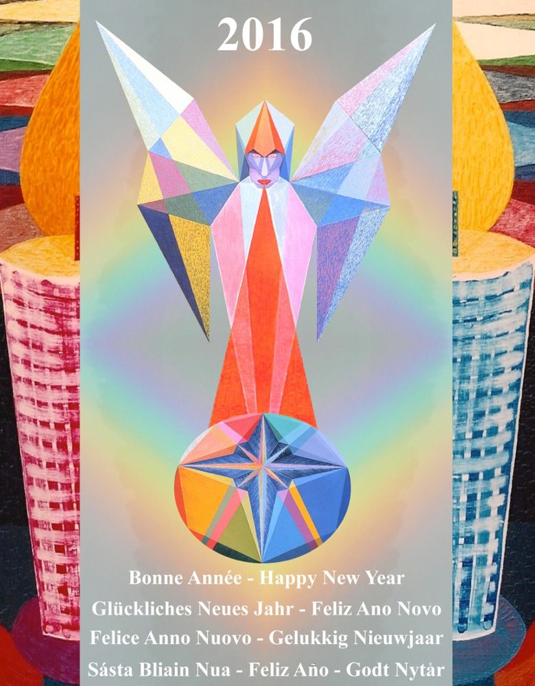 Vœux de Bonne Année - Happy New Year & +