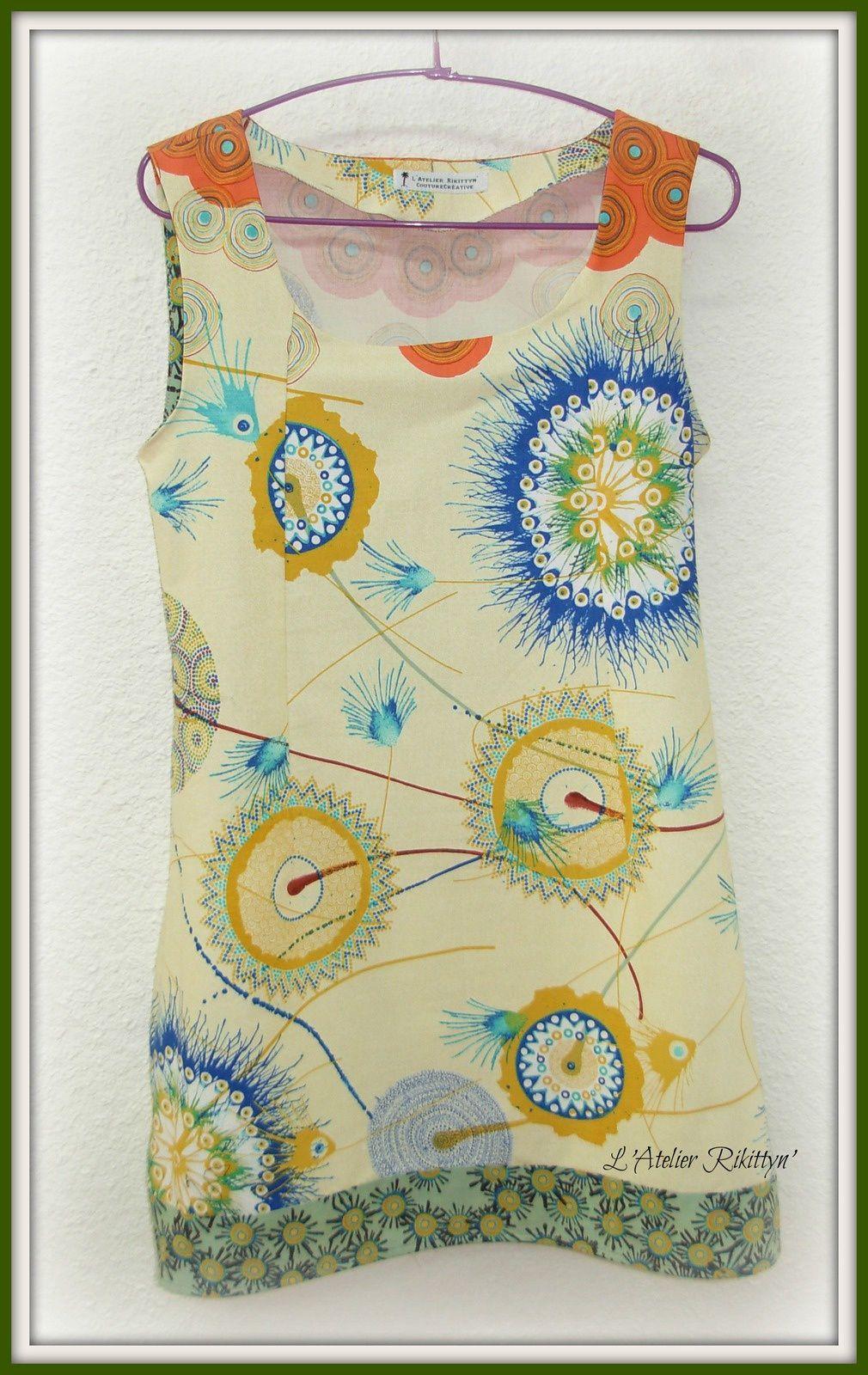 2014.03.29 - Robe printanière en coton imprimé