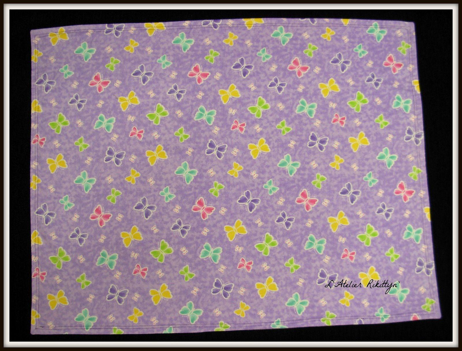 2012.09.17 - Plaid en flannel - Couette en coton wax, coton bazin et coton uni