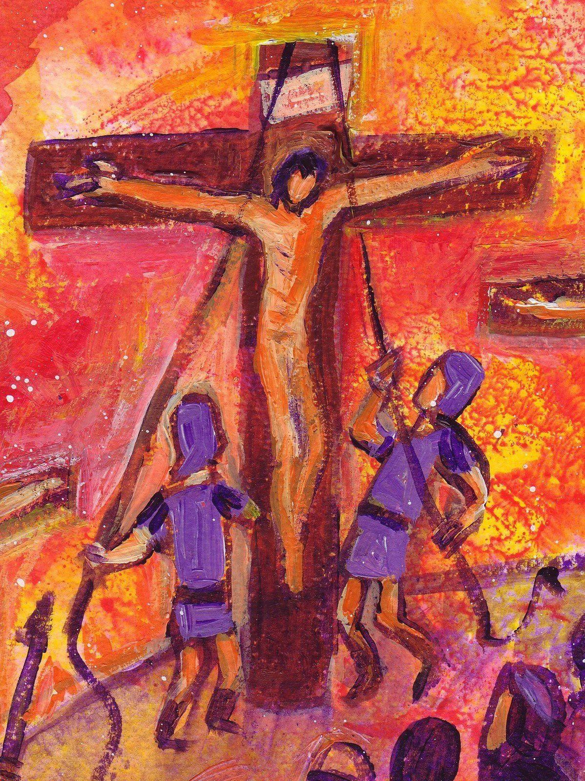 De même que le serpent de bronze fut élevé par Moïse dans le désert, ainsi faut-il que le Fils de l'homme soit élevé...