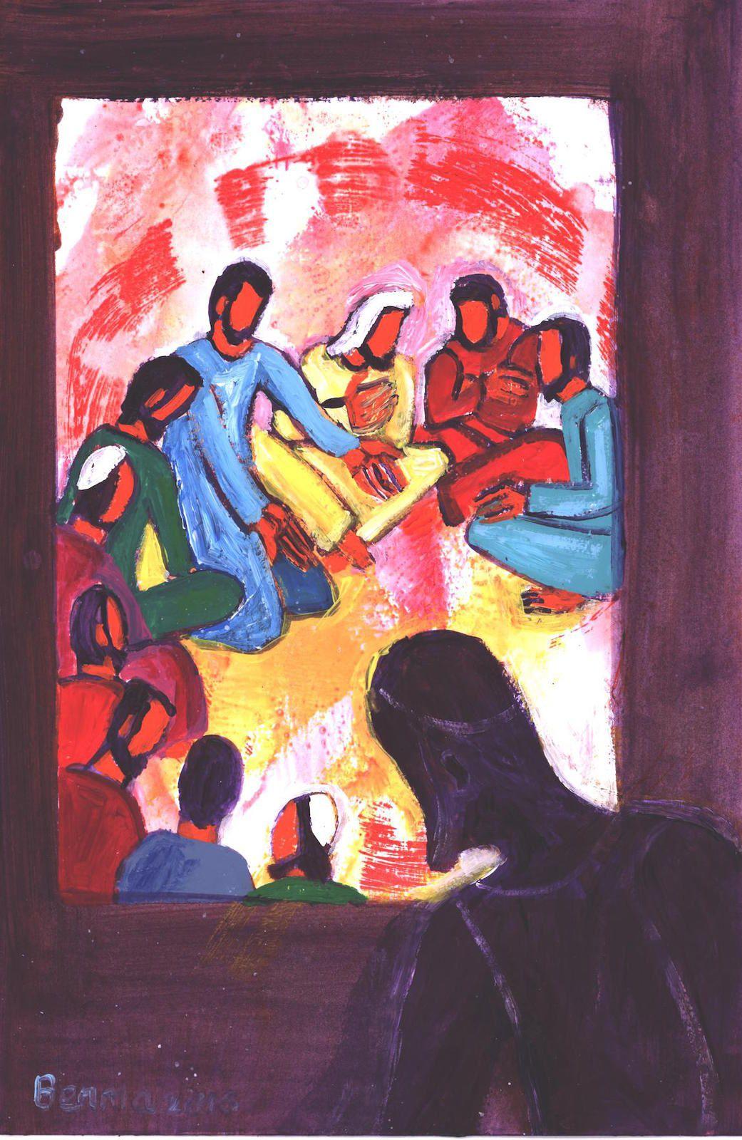 la voie vers la Résurrection passe par les douleurs de la Croix