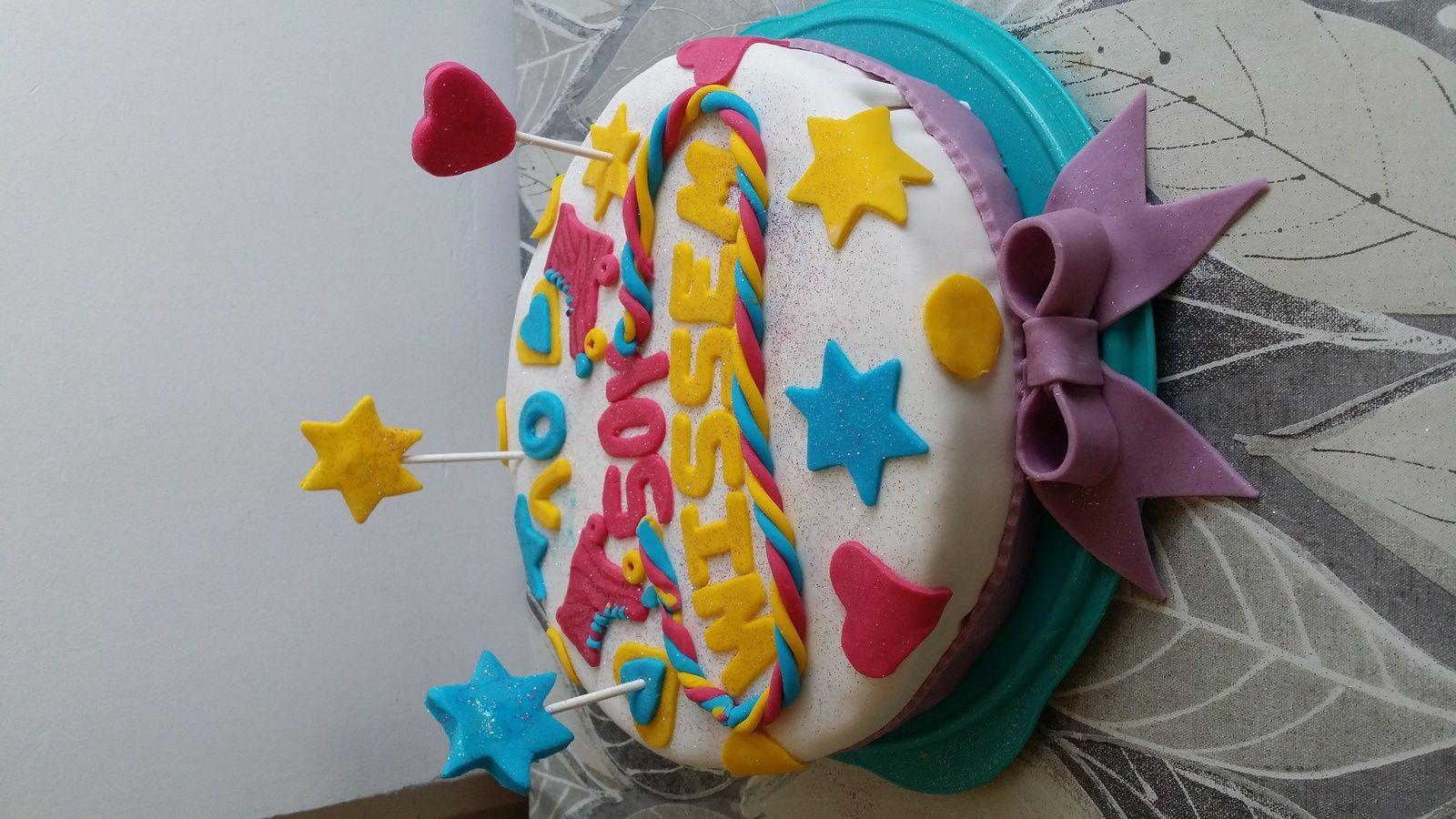gâteau anniversaire soy luna - la cuisine de nawal